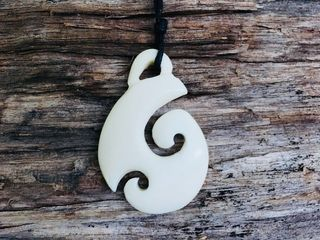 Bone Carving Pendant #75001