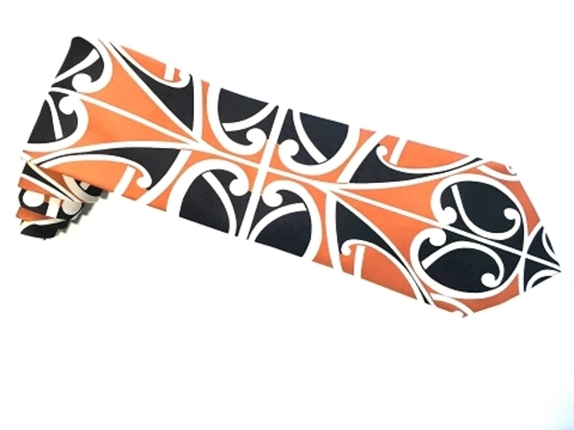 New Zealand unique  Maori Koru Tie - B